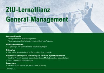 Lernallianzen - ZfU - International Business School