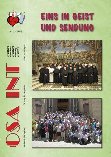EINS IN GEIST UND SENDUNG - Augustinians