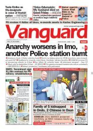 07042021 - Anarchy worsens in Imo, another Police station burnt