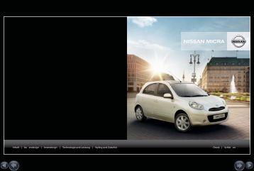 mit allen sinnen - Nissan