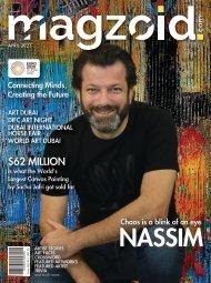 MAGZOID - Leading Art Magazine of MENA | April 2021