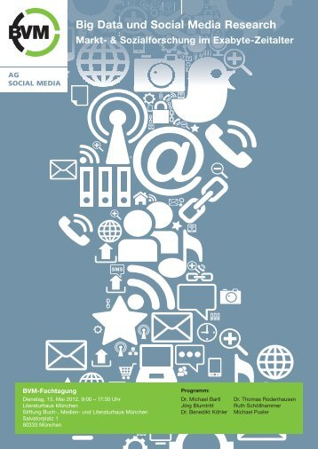 Big Data und Social Media Research Markt - Berufsverband ...