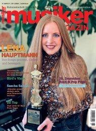 Musiker Magazin 1/2021