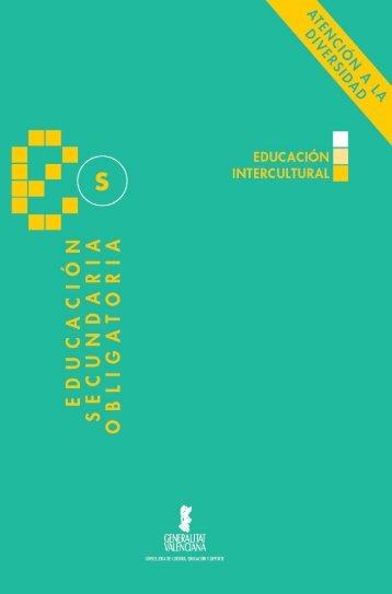 Educación intercultural: Propuestas para la tutoría - Conselleria d ...