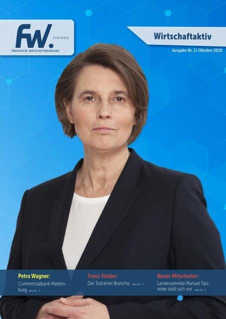 Wirtschaft Aktiv Burgenland Oktober/2020