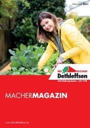 MacherMagazin – Frühjahrsausgabe 2021   HBK Dethleffsen