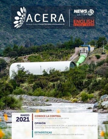 Newsletter ACERA - Marzo 2021