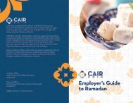 CAIR-Ohio - Employer's Guide to Ramadan