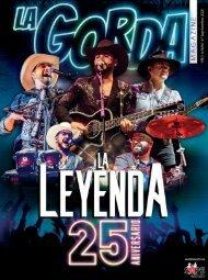 La Gorda Magazine Año 6 Edición Número 67 Septiembre 2020 Portada: La Leyenda