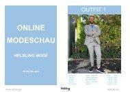 Online-Modeschau Helbling Mode