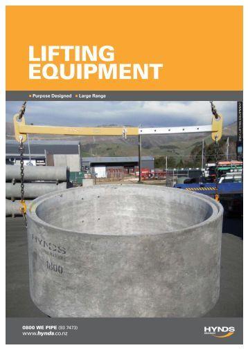 Lifting EquipmEnt - Hynds