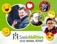 SaskAbilities 2020 Annual Report