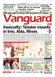 09042021- Insecurity: Tension mounts in Imo, Abia, Rivers