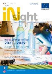ESF insight Ausgabe 10 / April 2021