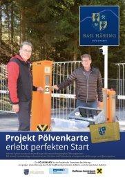 Bad Häring informiert – Sonderbeilage Pölvenkarte