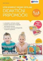 Katalog didaktičnih pripomočkov Modri vrtiljak za 1. in 2. razred