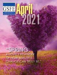 GSFE Newsletter-April 2021