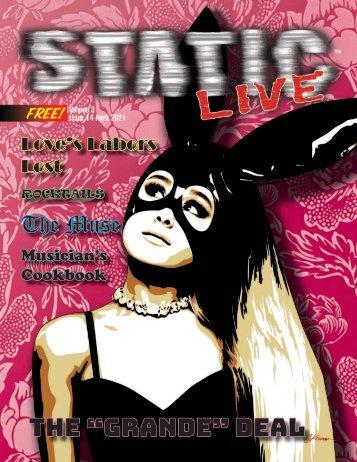 Static Live Magazine April 2021