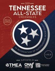 2021 TMEA All-State Tribute Program