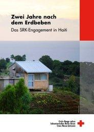 Zwei Jahre nach dem Erdbeben - Schweizerisches Rotes Kreuz