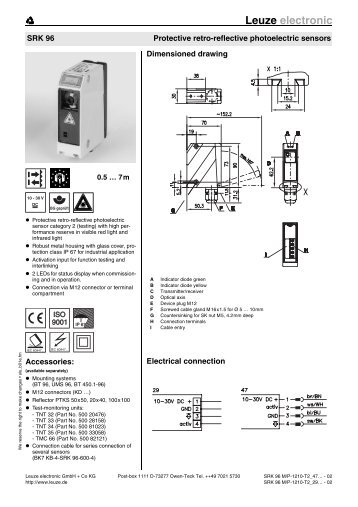 Leuze Electronic Safety Relay And Light Curtains Wiring Diagram