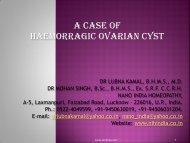 CASE PRESENTATION SRI SAI NATH POST ... - Similima