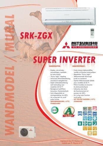 srk-zgx super inverter w andmodel / mural - Antartico