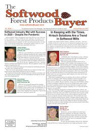 The Softwood Forest Products Buyer - January/February 2021