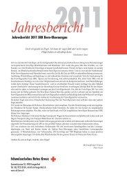 Schweizerisches Rotes Kreuz Jahresbericht 2011 SRK Bern ...