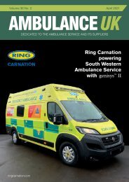 Ambulance UK April 2021