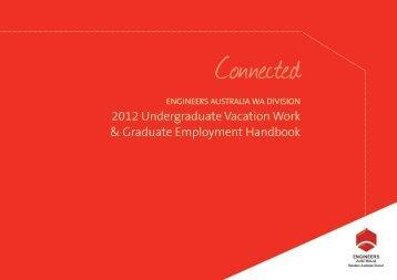 2012 undergraduate vacation work & graduate employment handbook