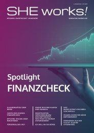 Spotlight FINANZCHECK – SHE works! im April 2021