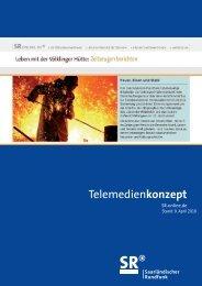 Telemedienkonzept - Saarländischer Rundfunk