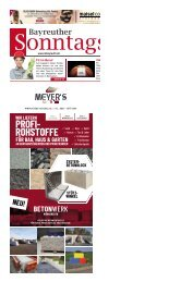 2019-09-22 Bayreuther Sonntagszeitung