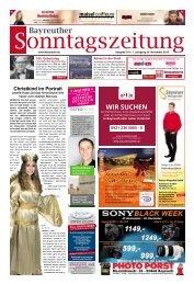 2019-11-24 Bayreuther Sonntagszeitung