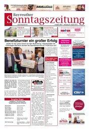 2019-08-25 Bayreuther Sonntagszeitung