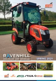 Ravenhill Monthly Groundcare Leaflet March 2021 SINGLE PAGES