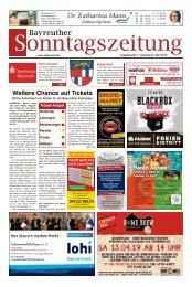 2019-04-07 Bayreuther Sonntagszeitung