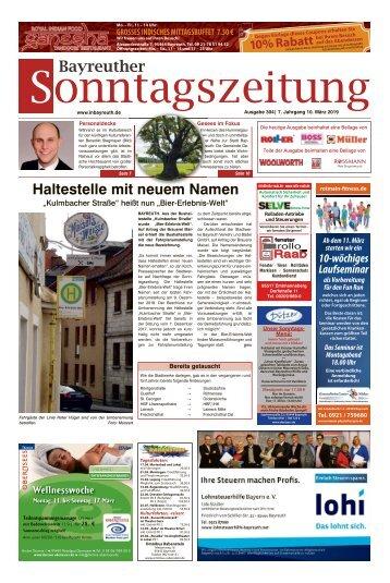 2019-03-10 Bayreuther Sonntagszeitung