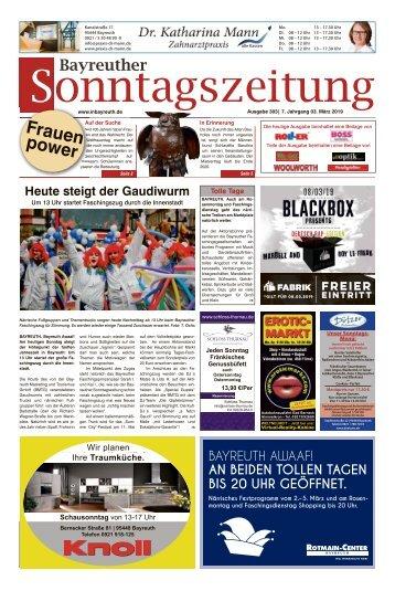 2019-03-03 Bayreuther Sonntagszeitung