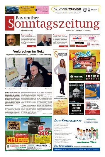 2019-03-17 Bayreuther Sonntagszeitung