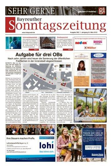 2019-03-24 Bayreuther Sonntagszeitung