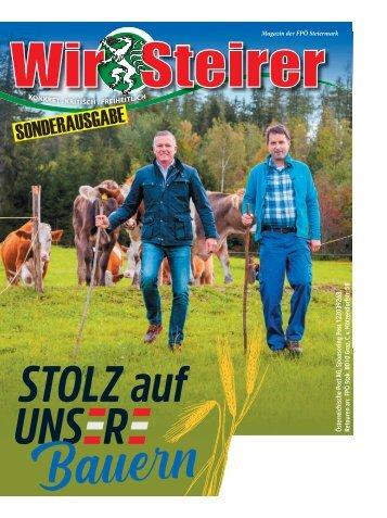 Wir Steirer - Sonderausgabe - Jänner 2021