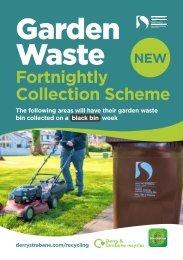 Garden Waste Collection Schedule March2021