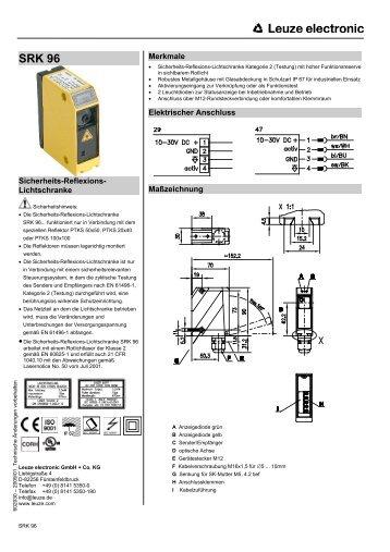 SRK 96 - Leuze electronic