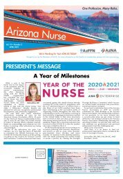 Arizona Nurse - April 2021