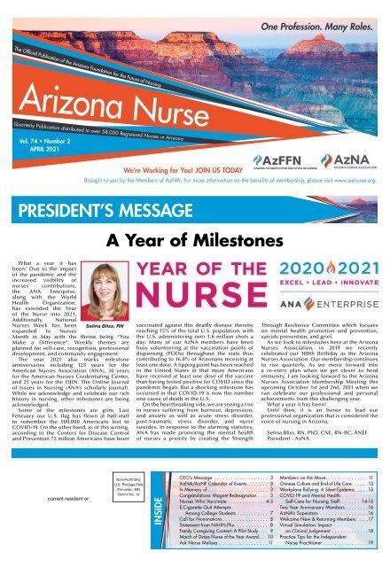 Arizona Nurse - April 2021
