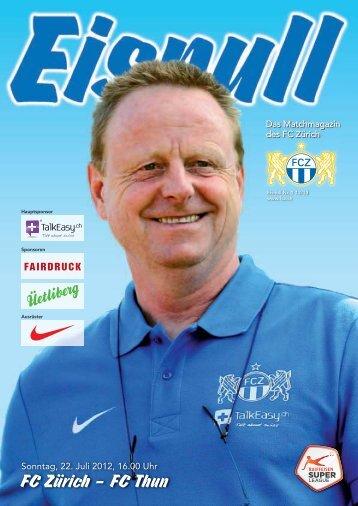 FC Zürich – FC Thun