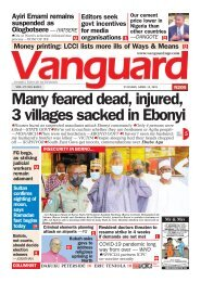 13042021 - Many feared dead, injured, 3 villages sacked in Ebonyi