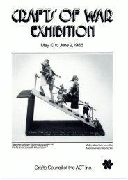 Exhibition Catalogue: Crafts of War